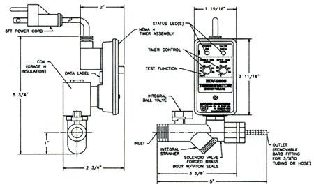 Terminator Solenoid Electric Drain Valve B Amp H Industrial